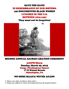 2015 SACRED LIBATION CEREMONY FLYER